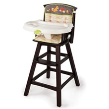 Summer Infant Meal Time summer infant classic comfort wood high chair fox and friends