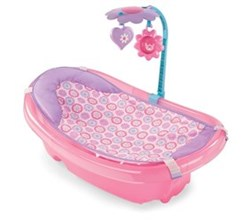 Summer Infant Bath and Potty summer infant newborn to toddler baby tub with toy bar